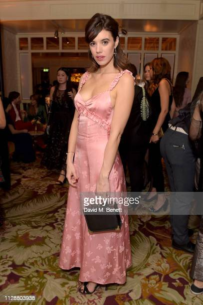 Gala Gordon attends the Netflix 2019 BAFTA AWARDS After Party at Chiltern Firehouse on February 10 2019 in London England