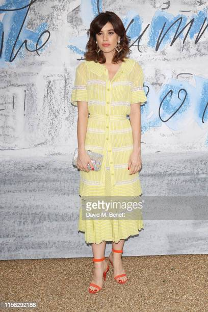 Gala Gordon attends The Summer Party 2019 presented by Serpentine Galleries Chanel and hosted by Michael R Bloomberg Hans Ulrich Obrist Sir David...