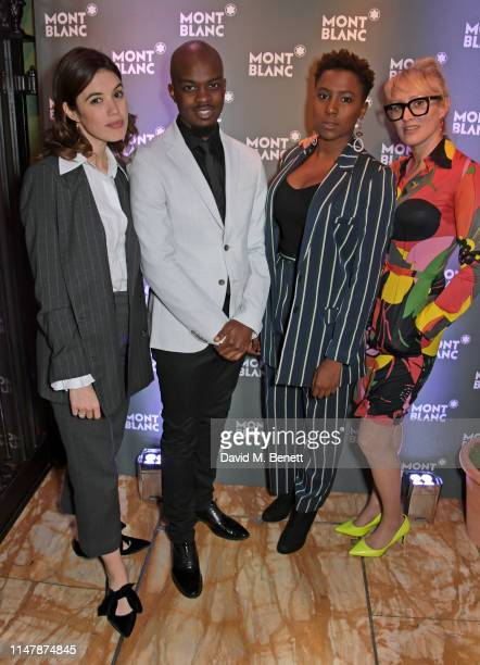 Gala Gordon George The Poet Jade Anouka and Isabella Macpherson attend the launch of Montblanc's 2019 Writers Edition 'Rudyard Kipling' at Annabel's...