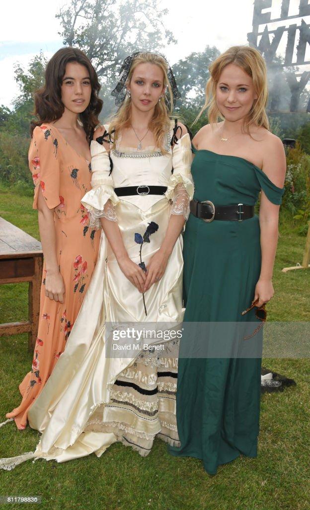 Greta Bellamacina And Robert Montgomery Wedding : News Photo