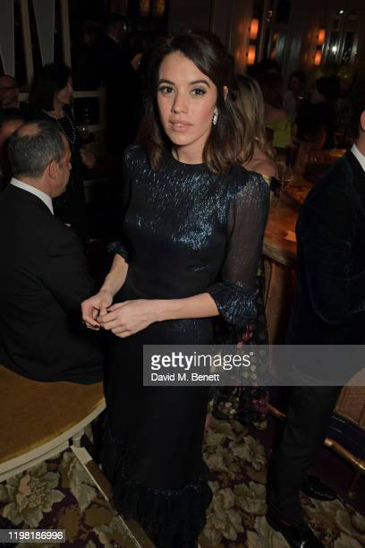 Gala Gordon poses the Netflix BAFTA after party at Chiltern Firehouse on February 2 2020 in London England