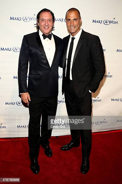 Gala Honoree and Founder Larry Scott Gottesman and Nigel Barker attend An Evening Of Wishes Annual Gala Benefiting MakeAWish Metro New York on June...