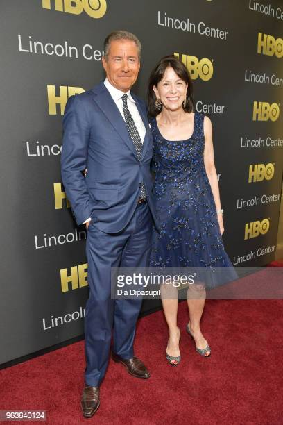 Gala honoree Richard Plepler and Chair of Lincoln Center for the Performing Arts Katherine Farley attend Lincoln Center's American Songbook Gala at...