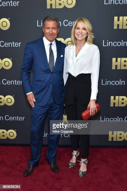 Gala honoree Richard Plepler and journalist Paula Zahn attend Lincoln Center's American Songbook Gala at Alice Tully Hall on May 29 2018 in New York...