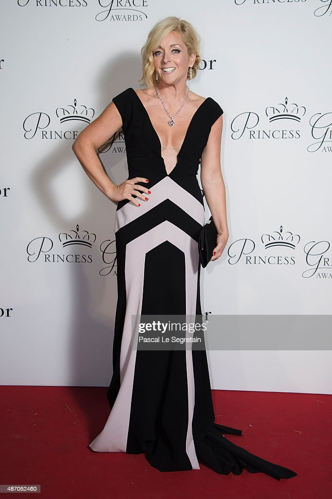Gala Host Jane Krakowski attends the 2015 Princess Grace Awards Gala With Presenting Sponsor Christian Dior Couture at Monaco Palace on September 5, 2015 in Monte-Carlo, Monaco.