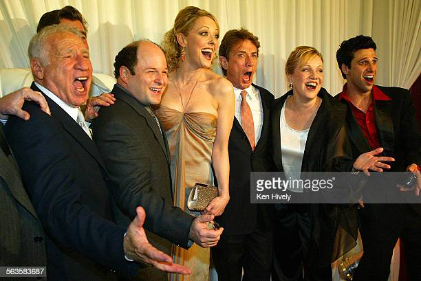 Gala opening of The Producers Jason Alexander and Martin Short at the Palladium May 29 2003 Photo of Mel Brooks Gary Beach Jason Alexander Angie...