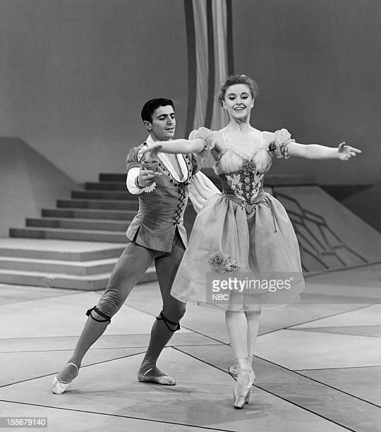 "Gala Performance"" Episode 412 -- Pictured: Dancers Edward Villella, Violette Verdy --"