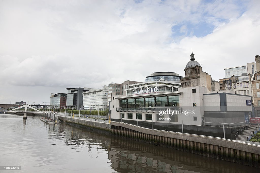 Gala Riverboat Casino, Glasgow : Stock Photo