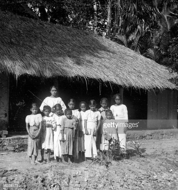 Galagadera The girls school On 1902