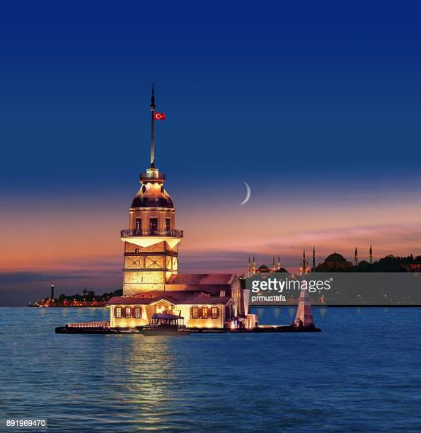 galata tower - kent county stock pictures, royalty-free photos & images