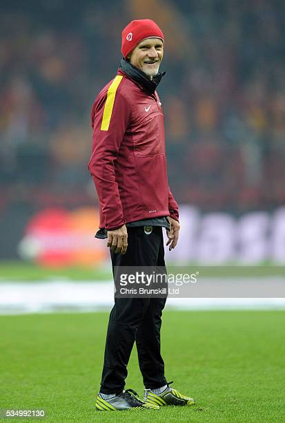Galatasaray goalkeeping coach Claudio Taffarel