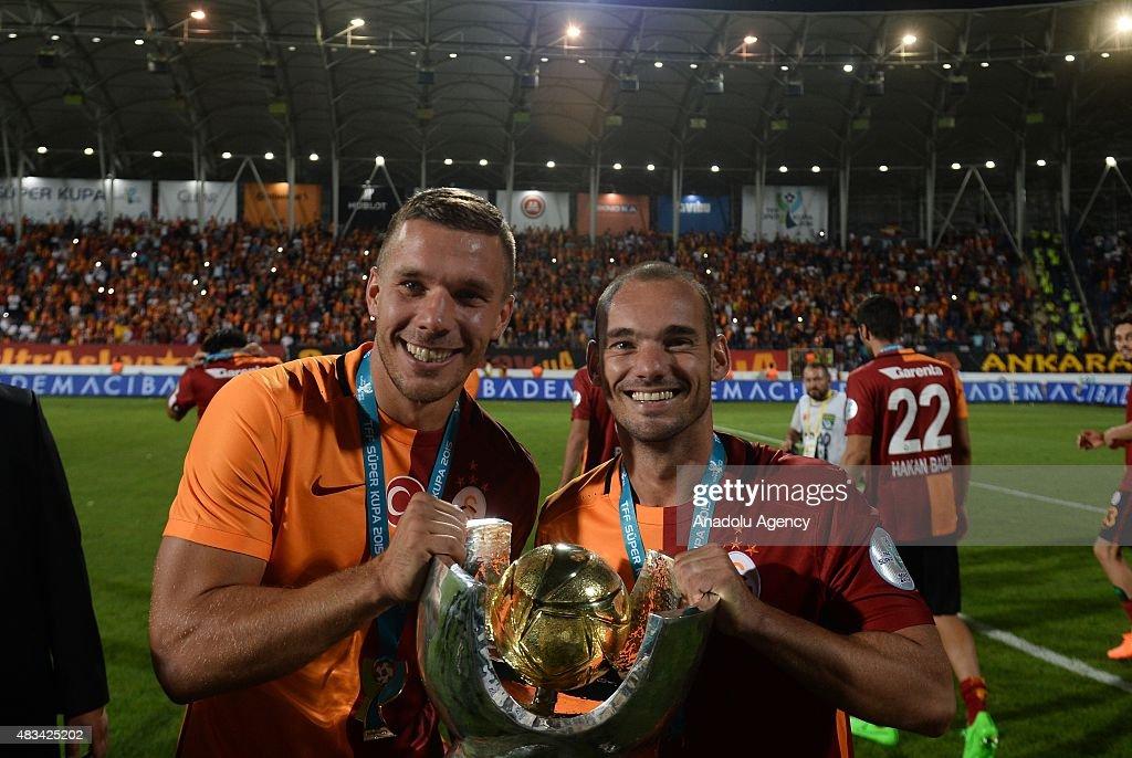 Galatasaray vs Bursaspor - Turkish Super Cup : ニュース写真