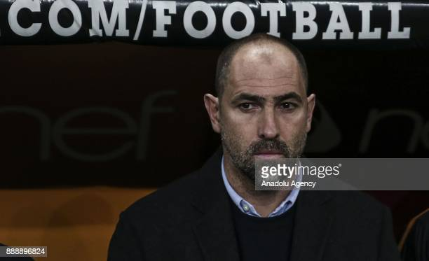 Galatasaray's head coach Igor Tudor is seen during the Turkish Super Lig match between Galatasaray and Teleset Mobilya Akhisarspor at Turk Telekom...