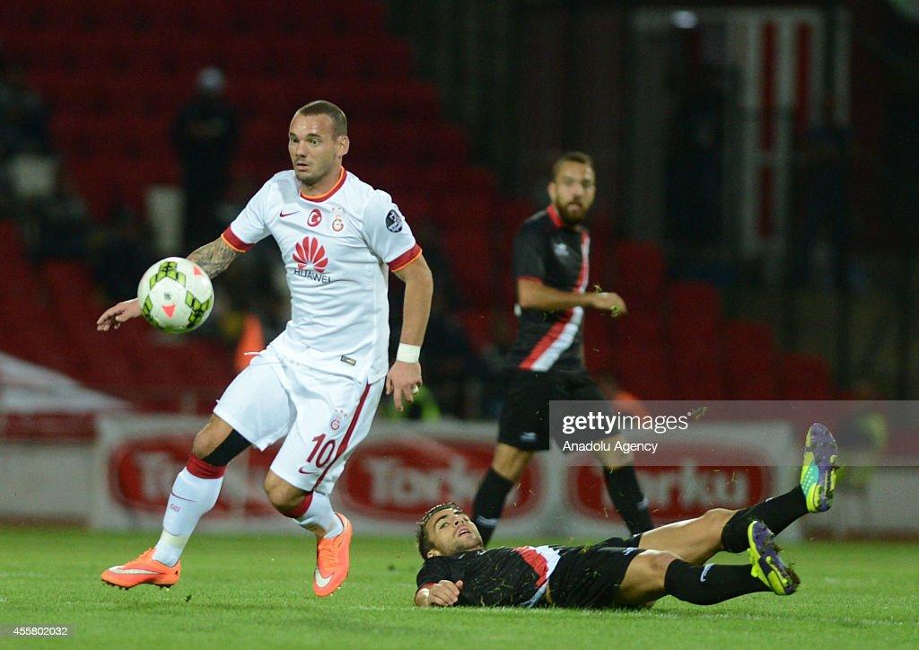 Balikesirspor v Galatasaray - Turkish Spor Toto Super League : News Photo
