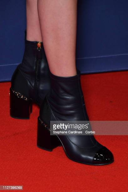 Galatea Bellugi attends the 24th Lumieres De La Presse Internationale Ceremony at Institut du Monde Arabe on February 04 2019 in Paris France