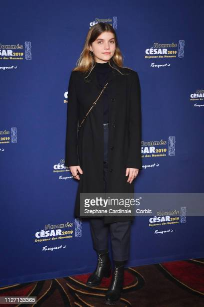 Galatea Bellugi attends the Cesar 2019 Nominee Luncheon at Le Fouquet's on February 03 2019 in Paris France