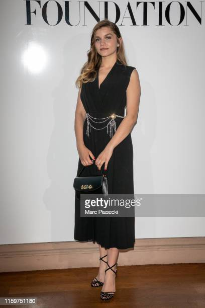 Galatea Bellugi attends the Vogue diner as part of Paris Fashion Week Haute Couture Fall Winter 2020 at Le Trianon on July 02 2019 in Paris France