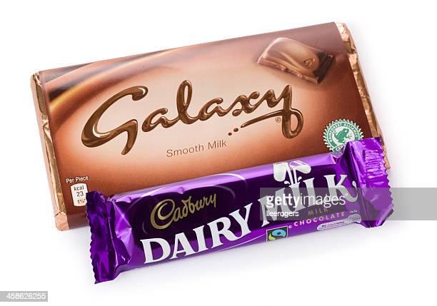 Galaxy and Dairy Milk