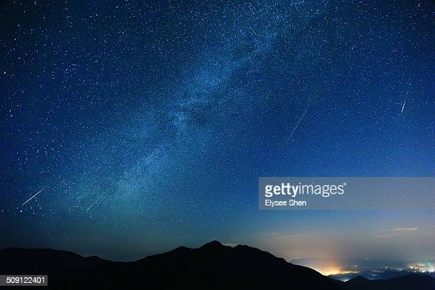 Galaxy and Perseids