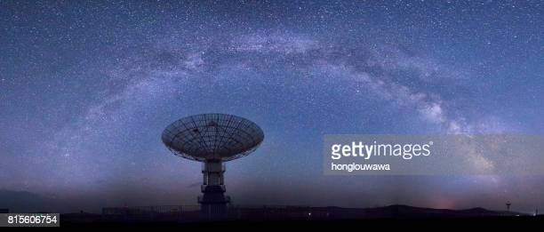 Galaxy and radio telescope