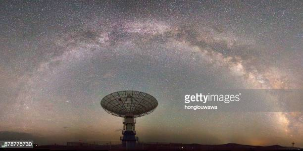 Galaxy and radio telescope