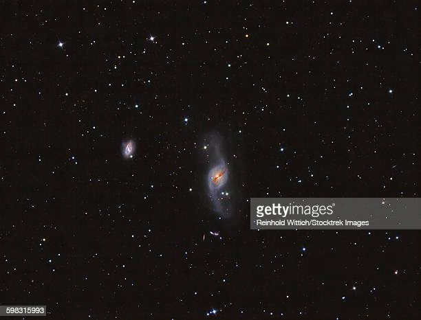 NGC 3718 galaxy i the constellation Ursa Major.