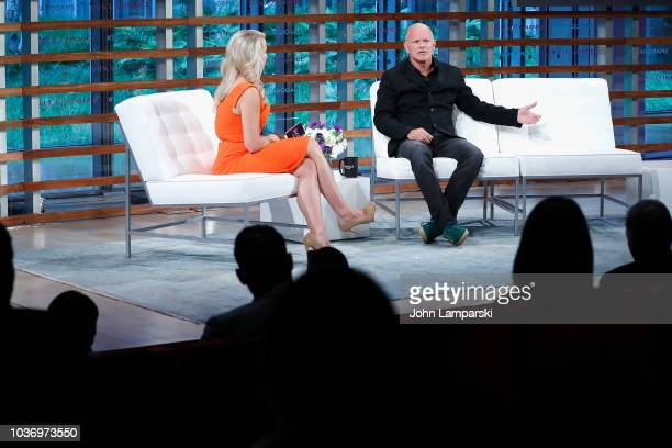 Galaxy Investment Partners Mike Novogratz interviewed by Julia La Roche speaks during the 2018 Yahoo Finance All Markets Summit at The Times Center...