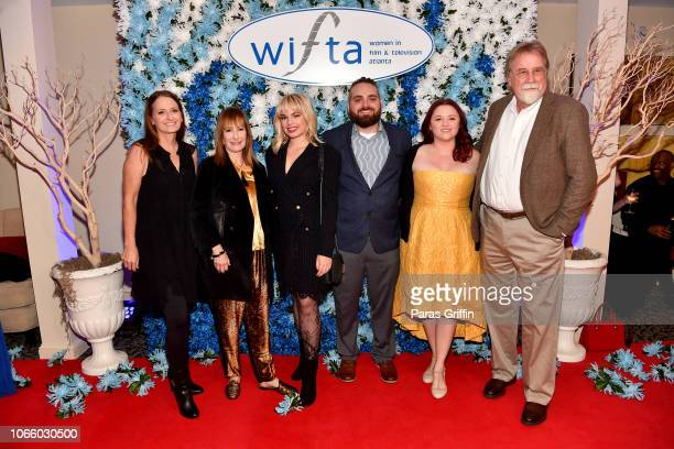 Gale Anne Hurd and members of AMC's The Walking Dead attend the '2018 Annual Women In Film Television Gala' at 103 West on November 10 2018 in...