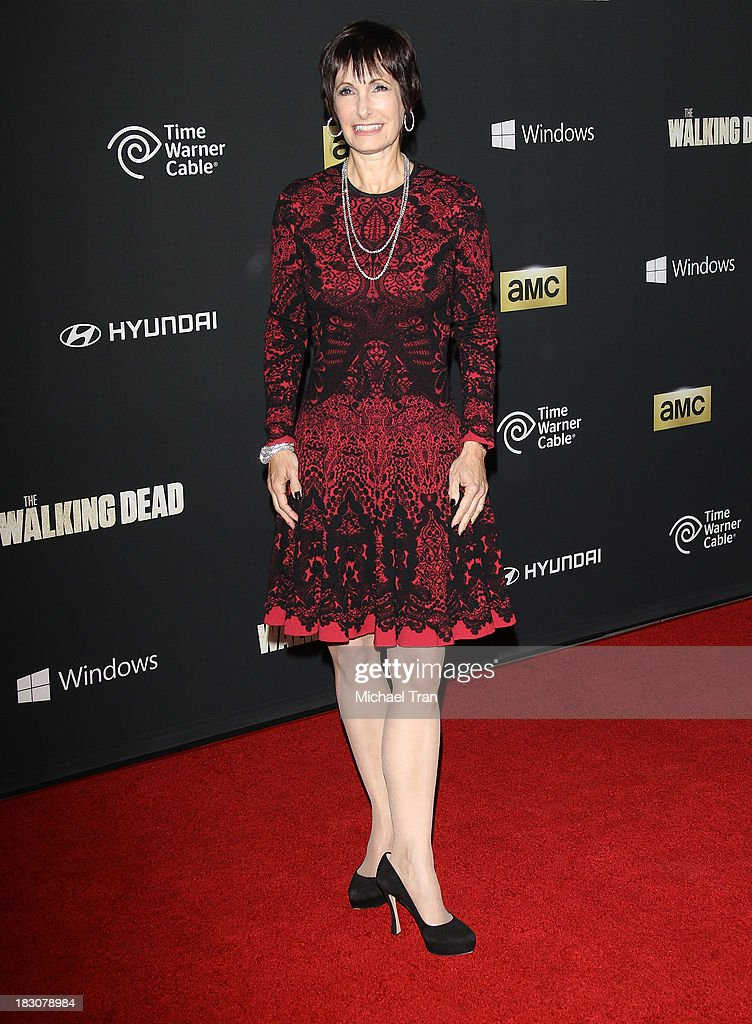 "Premiere Of AMC's ""The Walking Dead"" 4th Season"