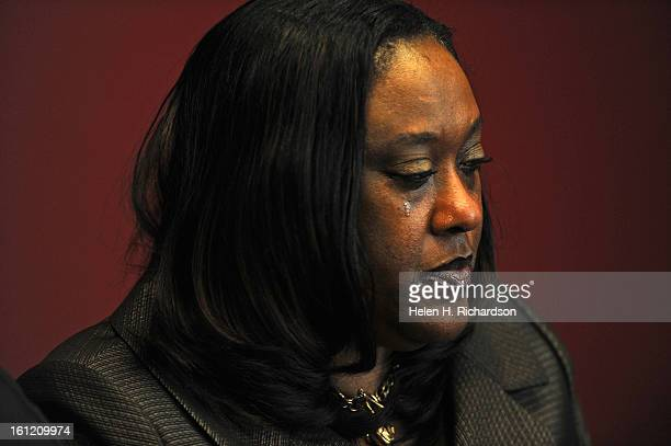 Gale Booker shows her emotion and reaction to the video of her brotherinlaws death She and her husband Spencer Booker drove over 9 hours from Kansas...