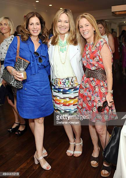 Gale Goldring Maria Bell and Teri Hertz attend Annual PS ARTS Bag Lunch on May 29 2014 in Los Angeles California