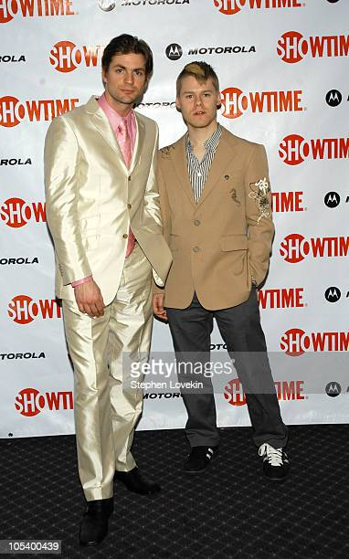 Gale Harold and Randy Harrison at the Motorolasponsored New York Premiere of Showtime's 'Queer as Folk'