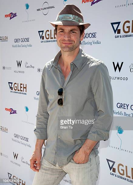 Gale Harold attends 9th annual GLEH garden party at PetitfilsBoos Estate on October 3 2010 in Los Angeles California