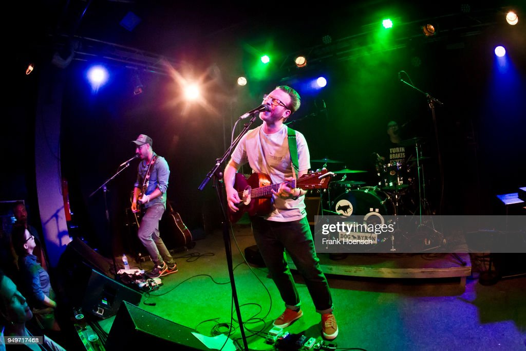 Turin Brakes Perform In Berlin