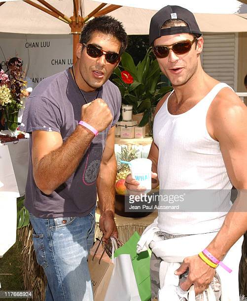 Galen Gering and Greg Vaughan at Archipelago Botanicals Photo by JeanPaul Aussenard/WireImage for Silver Spoon