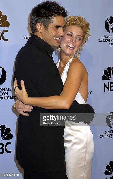 Galen Gering and McKenzie Westmore during 31st Annual Daytime Emmy Awards Pressroom at Radio City Music Hall in New York City New York United States
