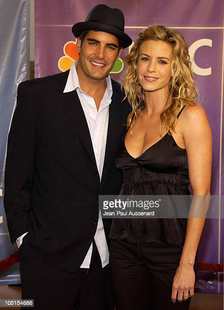 Galen Gering and wife Jenna during NBC All Star Casino Night 2003 TCA Press Tour Arrivals at Renaissance Hotel Grand Ballroom in Hollywood California...