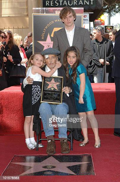 Galen Hopper Henry Lee Hopper and Dennis Hopper at Dennis Hopper's star ceremony on Hollywood Walk Of Fame on March 26 2010 in Los Angeles California