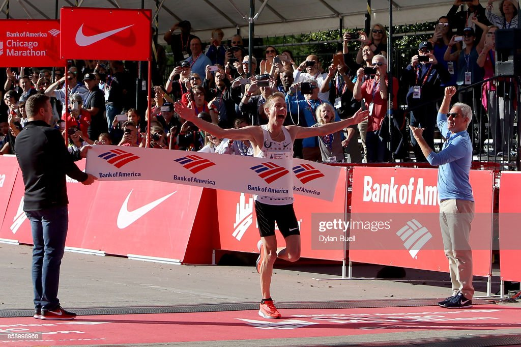 2017 Bank of America Chicago Marathon : News Photo