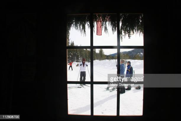 Galena Lodge is a hub of winter activity from crosscountry skiing and snowshoeing to eating