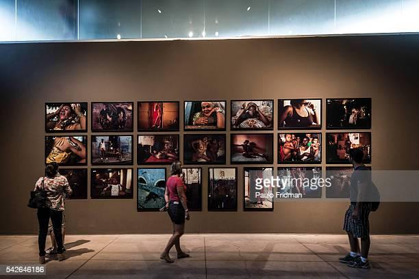 Galeria MIguel Rio Branco at Inhotim Contemporary Art Institute on September 7th in Brumadinho Minas Gerais Brazil