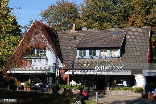 """Galerie """"Das Blaue Haus"""", Findorffstrasse 9, Worpswede , Teufelsmoor, Niedersachsen, Deutschland, Europa, Künstlerkolonie, Künstlerdorf,..."""