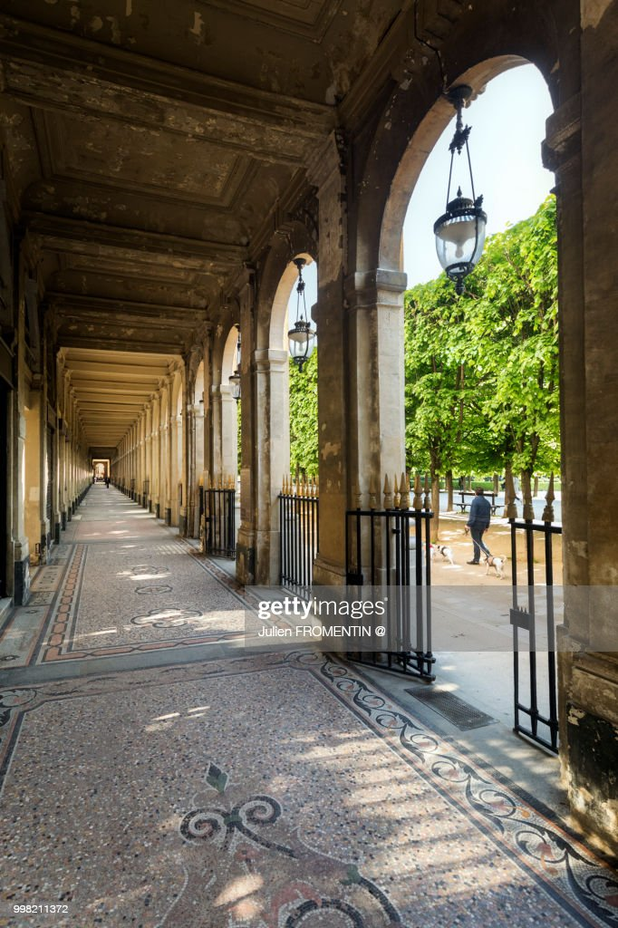 Galerie du Palais-Royal, Paris : Stock Photo