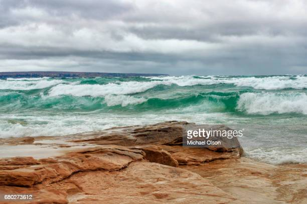 gales of november - munising michigan stock pictures, royalty-free photos & images