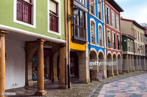 Galiana Street in  Avilés old town, Asturias