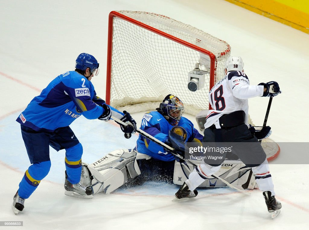 USA v Kazakhstan - 2010 IIHF World Championship