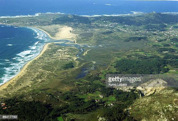 Galicia A Coruna Corrubedo Corrubedo dunes Carregal ´s ga an marsh