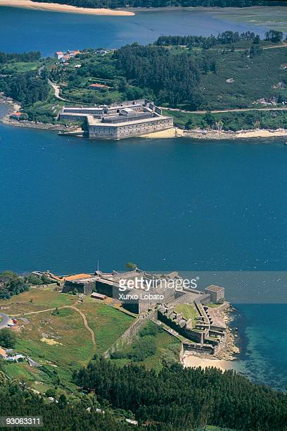 Galicia from the air Ria de Ferrol In 1726 Felipe V named Ferrol the capital of the Northern Maritime Department despite the warehouses and the naval...