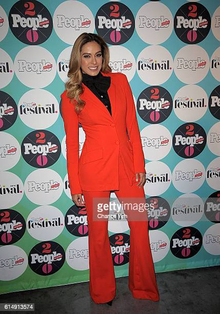 Galilea Montijo attends 5th Annual Festival People en Espanol at The Jacob K Javits Convention Center on October 15 2016 in New York City