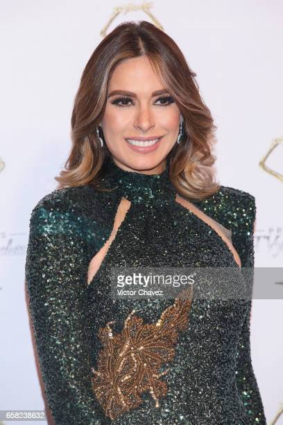 Galilea Montijo attends Premios Tv y Novelas 2017 at Televisa San Angel on March 26 2017 in Mexico City Mexico